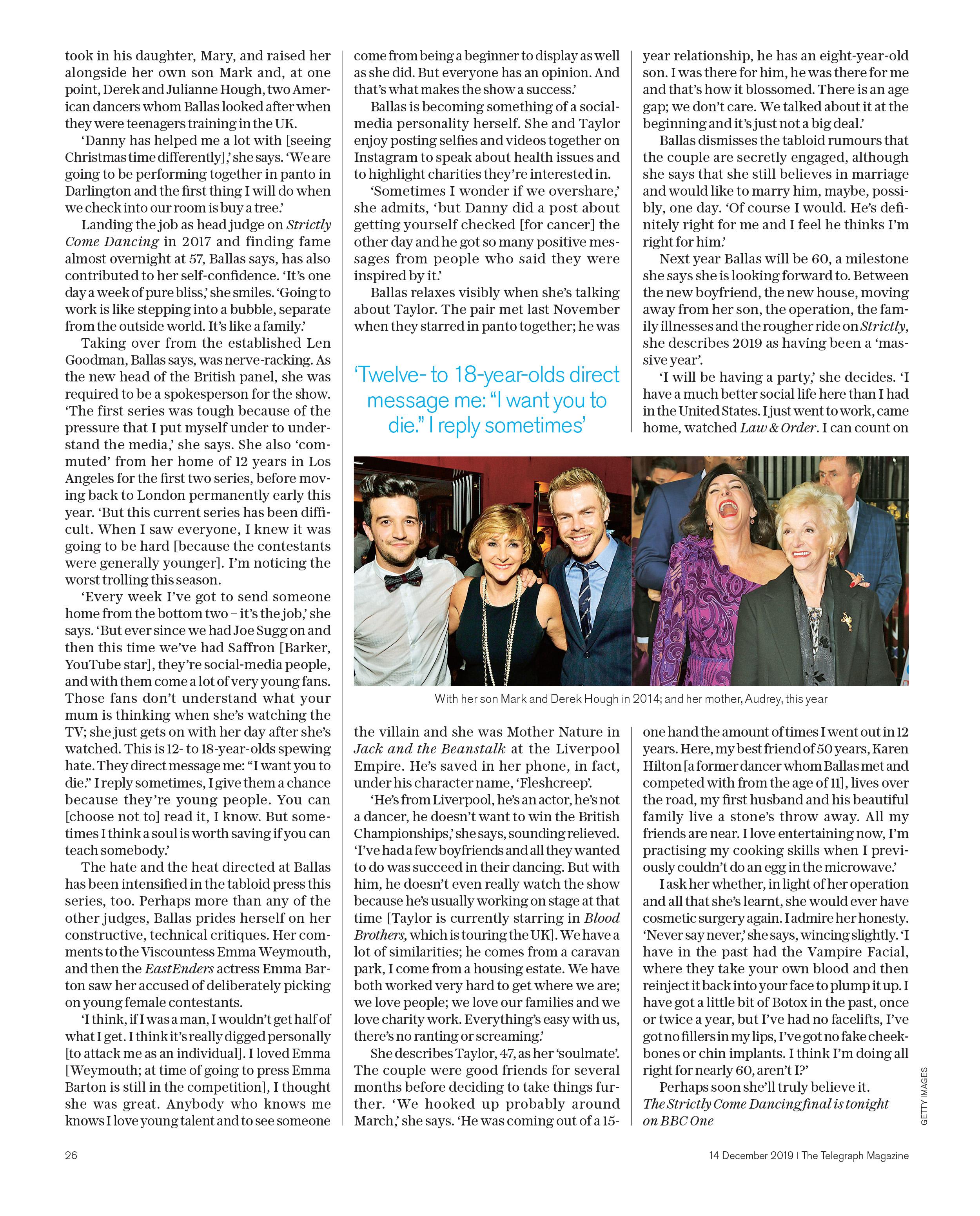 SHIRLEYFINDaily Telegraph Magazine_14-12-2019_Main_1st_p26